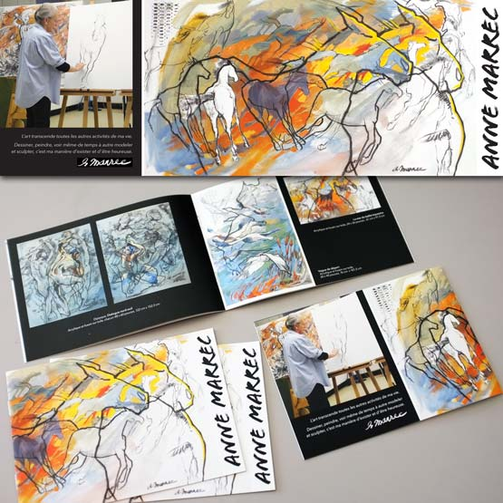 Catalogue d'artiste peintre — Anne Marrec